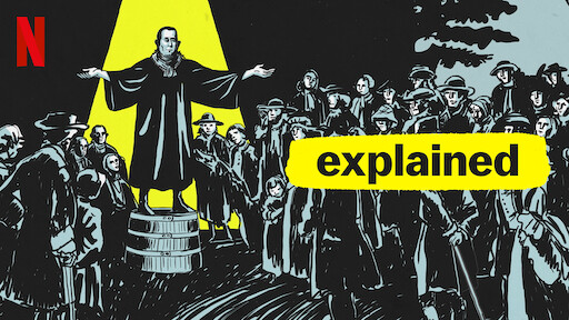 The title card for the Explained: Cult episode